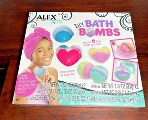 Alex Spa DIY Bath Bombs Kit Kids Bath Bomb Soap Kit
