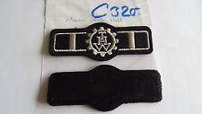 THW Rangabzeichen Jugendbetreuer schwarz silbern Klett (c320)