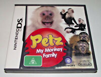 Petz My Monkey Family Nintendo DS 3DS Game *Complete*
