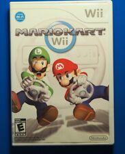 Nintendo Mario Kart Wii - Complete in Box CIB - Tested
