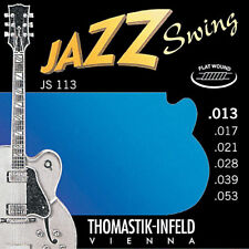 Thomastik Infeld JS113 Jazz Swing Electric Guitar Strings 13-53 flatwound