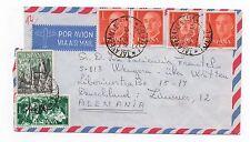 1966 SPAIN Air Mail Cover TALAVERA DE LA REINA TOLEDO To WITTEN GERMANY