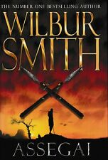Fiction,Hardcover/Dustjacket , ASSEGAI by WILBUR SMITH