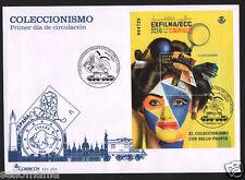 2016 FDC COLLECTING  EDIFIL 5030  SPD HB COLECCIONISMO SPAIN STAMPS   TC20054