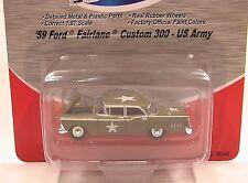 59 FORD FAIRLANE CUSTOM 300 US Army 1:87 Classic Metal Works 30245