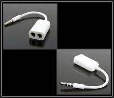 HEADPHONES MICROPHONE MIC SPLITTER LEAD CABLE FOR APPLE IPHONE 5 iPhone5