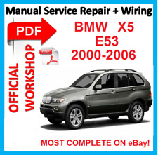 # OFFICIAL WORKSHOP  MANUAL service repair FOR BMW X5 E53 2000 - 2006