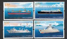 CHINA 2015-10 中國船舶工業  Ship Industries of China Stamps