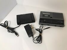 Sanyo TRC-6030 Voice Recorder With Cable And Micro Cassette Tape