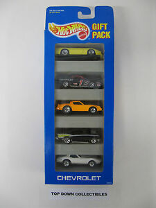 Hot Wheels 5 Chevrolet Gift Pack  #12403  New In Box