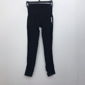 Gymshark Womens Sz XS Black Energy Seamless High Waisted Leggings Full Length