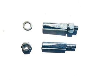 2 x Bicycle-Bike-Cycle-Standard Cotter Pin 10mm Raleigh Crank Chainwheel   10mm