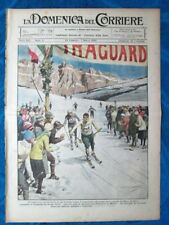La Domenica del Corriere 29 febbraio 1920 G.Apollonio - Sommergibile - Scià Roma