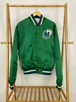 RARE VTG Official Starter Dallas Mavericks NBA RARE Green Satin Jacket Size XL