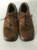 Dr. Martens DOC 8A99 Brown Leather 6 Eye Lace-Up Work Oxfords Mens US 5 Womens 7