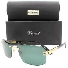 Chopard SCH B29 Sunglasses Rose Gold Black 8FCZ Polarized Authentic 60mm