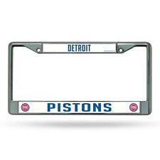 Detroit Pistons Laser Chrome License Plate Frame     #20/808
