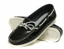 New Eastland Women's Yarmouth Lace-Up patent leather  shoes size 6