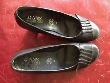Ara Jenny Size 38 Black Leather Pumps