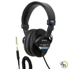 Sony MDR-7506 Professional Closed-Ear Dynamic Studio Headphones w/ Soft Case