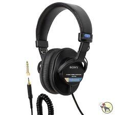 Sony MDR-7506 Professional Closed-Ear Dynamic Studio Headphones w/ Soft Case
