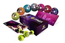 Zumba Fitness: Exhilarate! 7 DVD SET + Toning Sticks