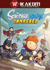SCRIBBLENAUTS UNMASKED: una avventura DC Comics a vapore digitale gioco ** CONSEGNA VELOCE