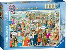 NEW! Ravensburger Best of British 22 The Charity Shop 1000 piece comic jigsaw