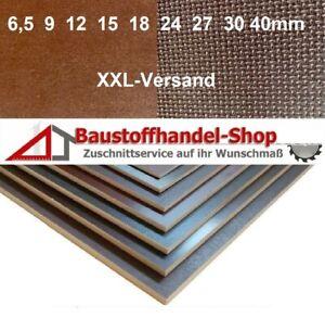 Siebdrucksperrholz Sieb/Film Birke wasserfeste Anhängerplatte Bodenplatte F/W