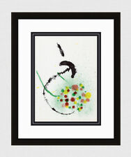 1956 Joan MIRO ORIGINAL Abstract COLOR Lithograph M346 Framed AUTHENTIC COA