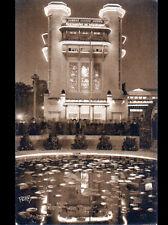 PARIS / EXPOSITION DES ARTS DECORATIFS / TOUR RESTAURANT de CHAMPAGNE animé 1925