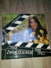 Take Two By Diana Solomon 6308 236 Vinyl Record LP