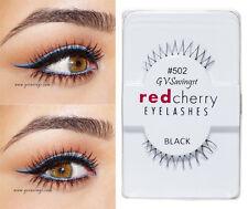 NIB~ Red Cherry #502 False Eyelashes BOTTOM UNDER Lashes AUTHENTIC KITTY