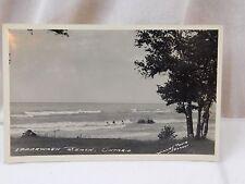 Vintage RPPC Ipperwash Beach, Ontario Real Photo Unused Postcard P27