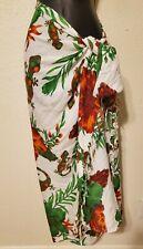 Vintage Sol Y Spa Gecko Hawaiian Sarong Skirt One Size Beach Coverup Festival
