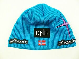 TURQUISE PHENIX TEAM NORWAY DNB THERMAL SKIING WINTER CAP-HAT SIZE: ONE SIZE