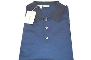 NEW  BRIONI Polo  Short Sleeve Cotton Size XL Us Eu 54 (Cod 6)
