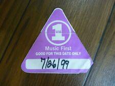Def Leppard Vh1 New York City 1999 Tour Backstage Concert Pass