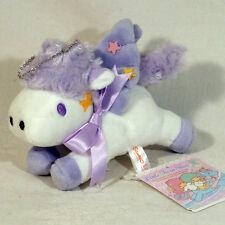 Little Twin Stars Kuscheltier Plüschtier Stofftier Pegasus mit Anhänger Neu