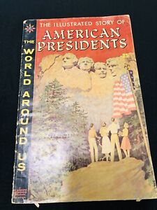 Vintage May 1960 AMERICAN PRESIDENTS - THE WORLD AROUND US - Comic Book Style