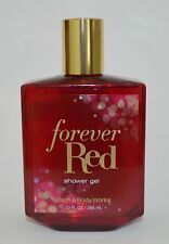 NEW BATH & BODY WORKS FOREVER RED SHOWER GEL BODY WASH BUBBLE 10 OZ LARGE