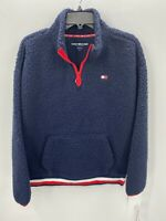 Tommy Hilfiger Sport Womens Medium Navy Blue Pullover Jacket NWT