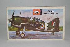 Upc F2A2 Brewster Buffalo, 1:72 Scale, Boxed