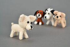 Homemade Crochet Toy Dog