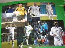 Leeds United FC 13 x Signed 2011 - 2013 12x8 Player & Staff Photographs