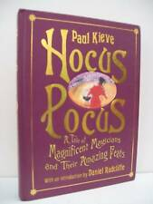 Book, Hocus Pocus Magicians Feats by Paul Kieve, SIGNED