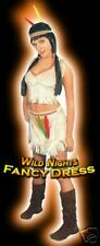 ***SALE*** Fancy Dress Costume # Ladies Sexy Indian Squaw Size 10-14