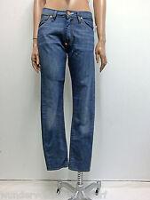 339€ NEU ACNE JEANS Denim Skinny Pants W25 L32 Hose Baumwolle Blau Blue
