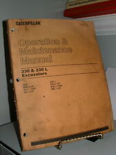 Excavator Manuals & Books for Caterpillar for sale | eBay