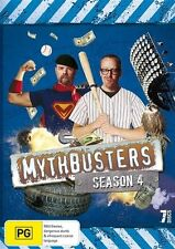 Mythbusters: Season 4 (DVD, 2010, 7-Disc Set), REGION 4